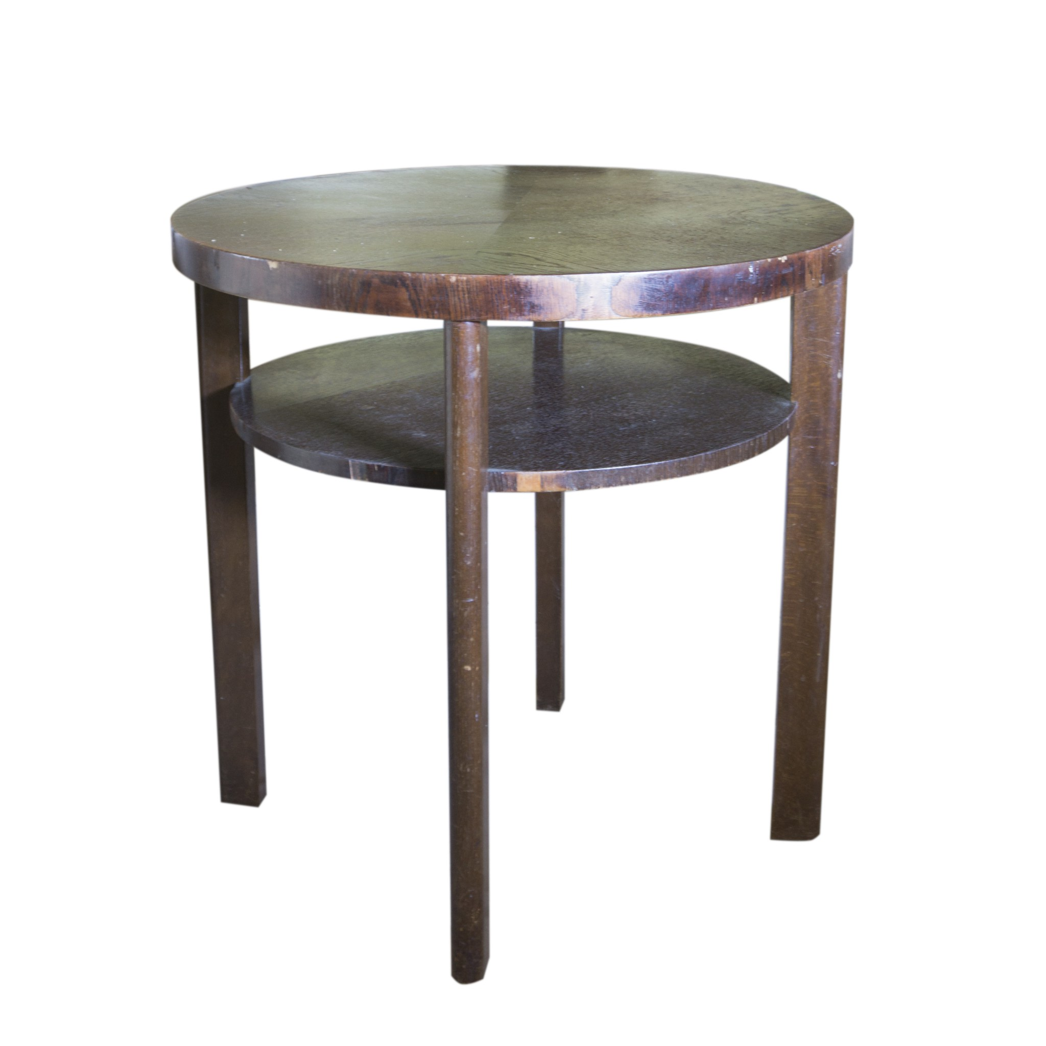 Friendly seating jind ich halabala coffee table and two for Coffee tables with seating