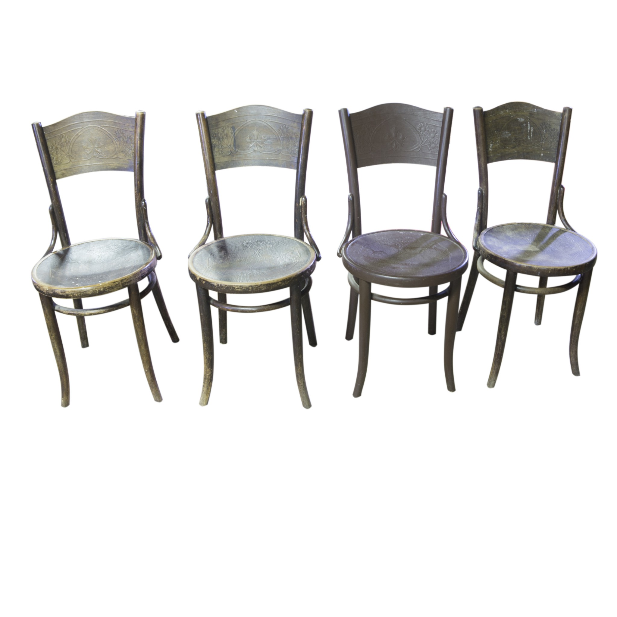 lightbox  sc 1 st  Your20th.com & Set of four Thonet Mundus chairs circa 1920 German. | Your20th.com ...