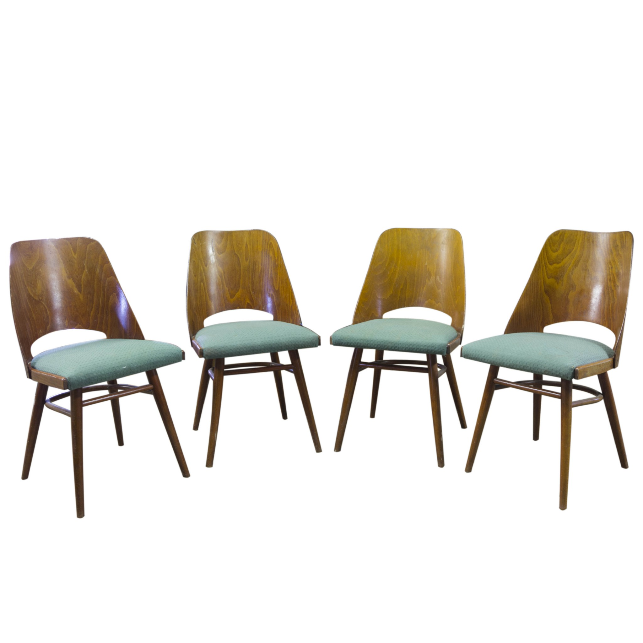 Vintage Chairs Mid Century Brussels Style
