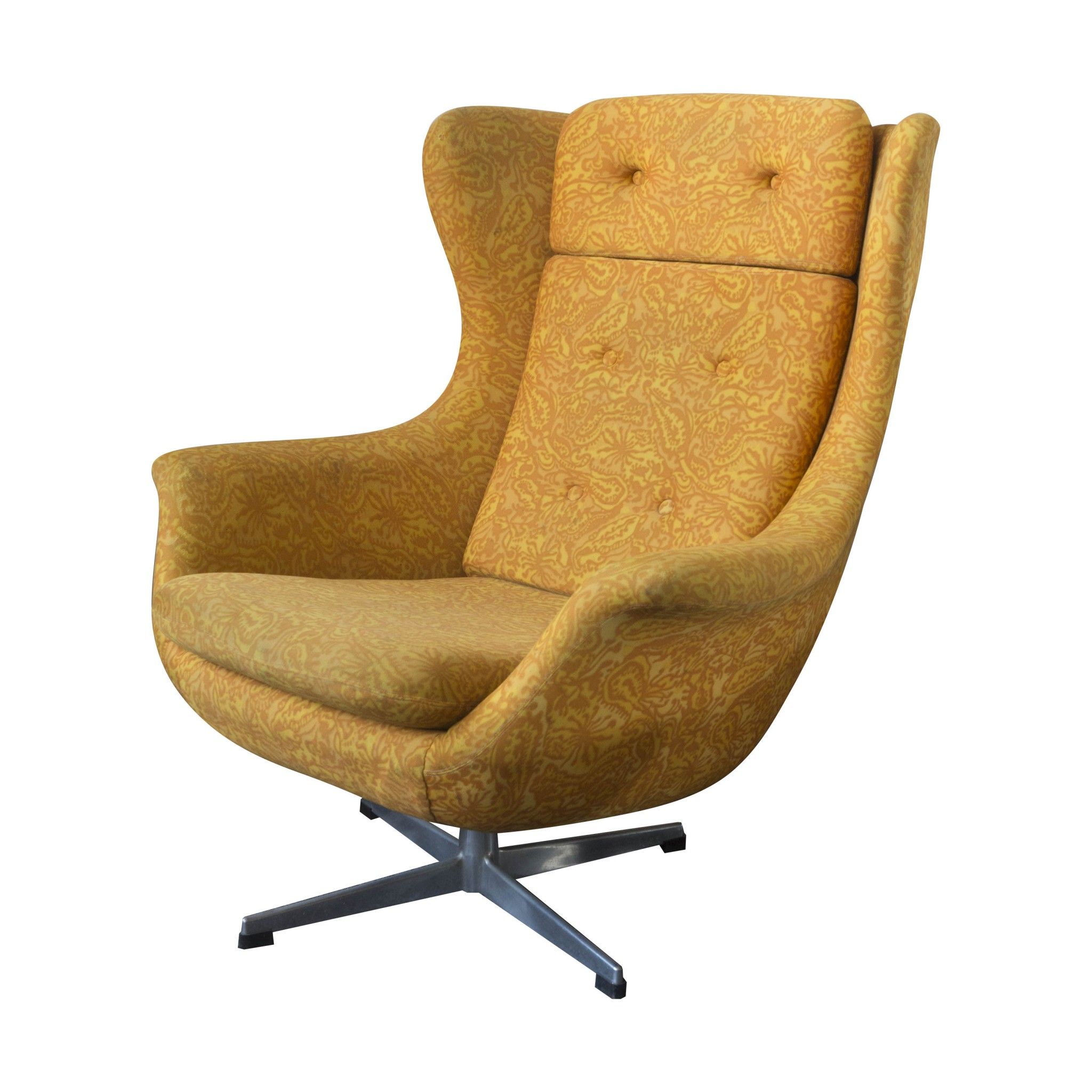 Image of: Midcentury Modern Swivel Armchair Up Zavody Czechoslovakia Your20th Com Wholesale Of The Antique Furniture Your20th Com