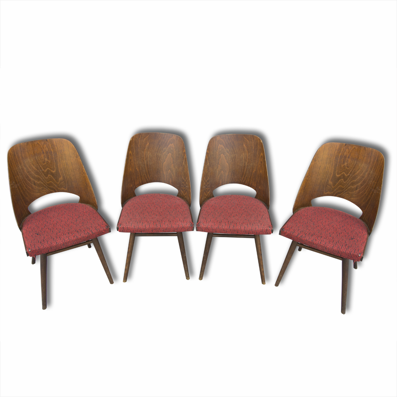 Mid Century Dining Chairs Ton Brussels Period 1960 S