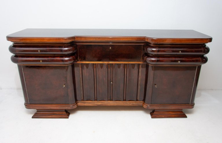 French Art Deco Style Buffet Or Sideboard 1930 S Bohemia Online Antique Furniture Wholesale Furniture Your 20th